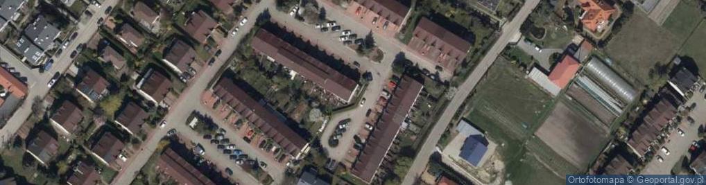 Zdjęcie satelitarne Kanadyjska ul.