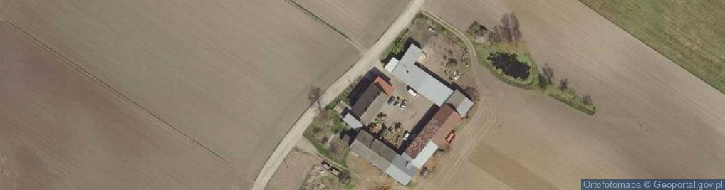 Zdjęcie satelitarne Kajetanowo ul.
