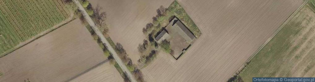 Zdjęcie satelitarne Kaniewo ul.