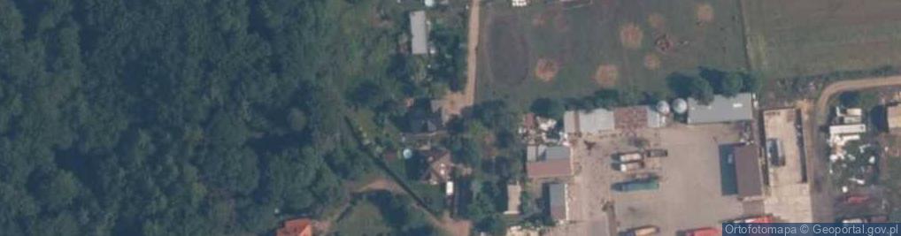 Zdjęcie satelitarne Kasztanowa ul.