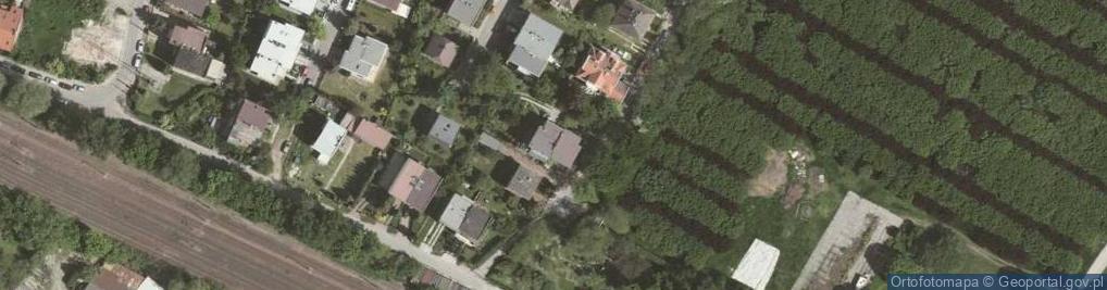 Zdjęcie satelitarne Kanonierów ul.