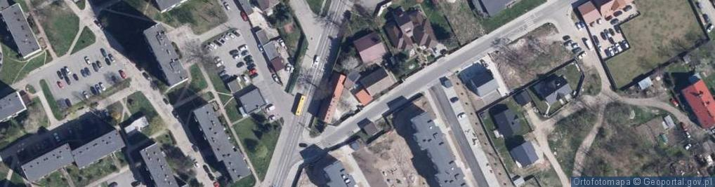 Zdjęcie satelitarne Kaczkowskiego Zygmunta ul.