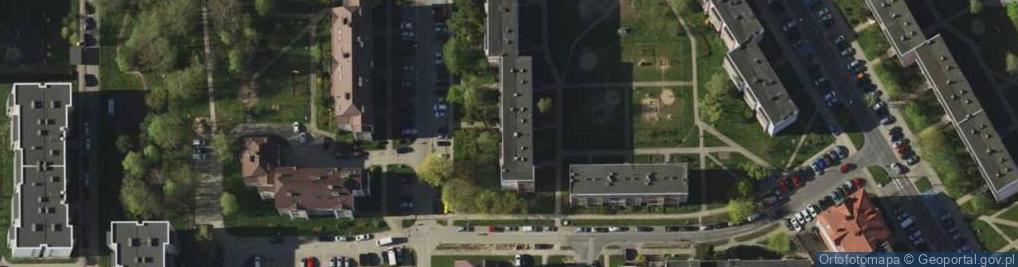 Zdjęcie satelitarne Kanta Immanuela ul.