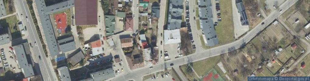 Zdjęcie satelitarne Kadłubka Wincentego, bp. ul.