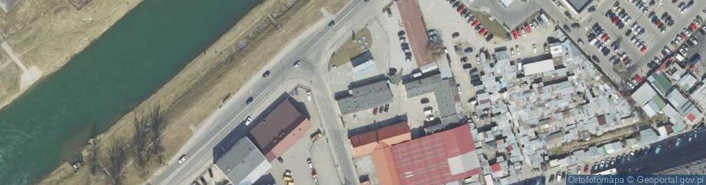 Zdjęcie satelitarne Kałuży Józefa ul.