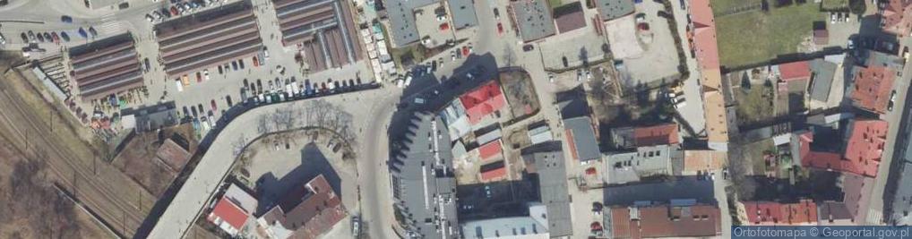 Zdjęcie satelitarne Kamienny Most ul.