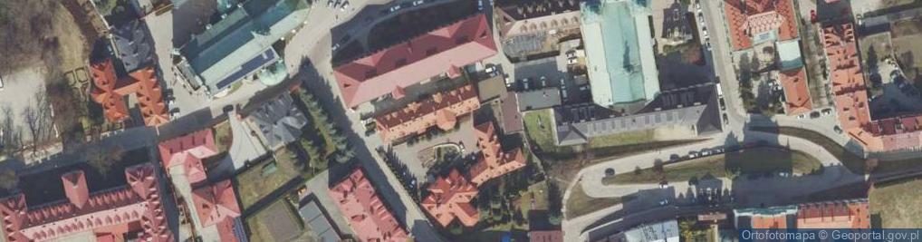 Zdjęcie satelitarne Kapitulna ul.
