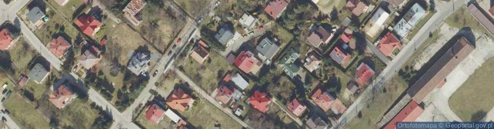 Zdjęcie satelitarne Karaszewicza-Tokarzewskiego Michała, gen. ul.