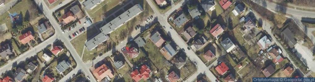 Zdjęcie satelitarne Kazanowska ul.