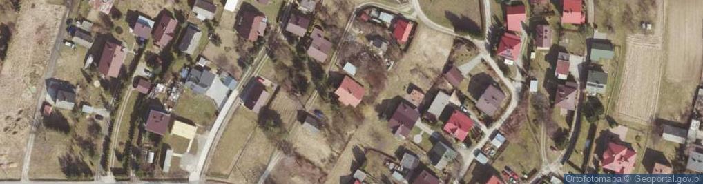 Zdjęcie satelitarne Karkonoska ul.