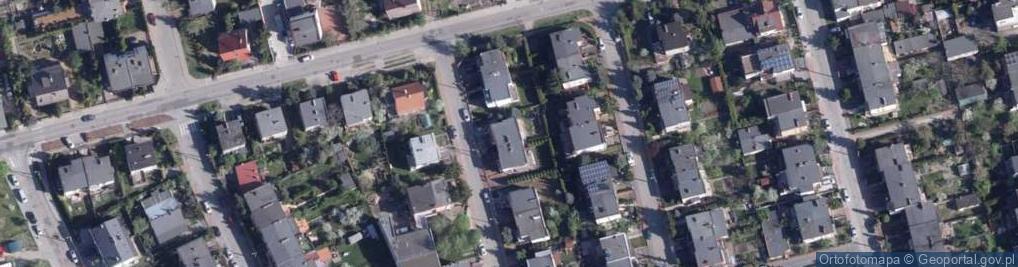 Zdjęcie satelitarne Kąkolowa ul.