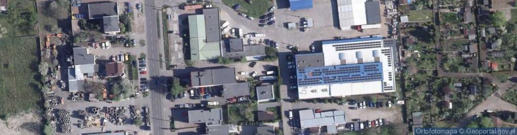 Zdjęcie satelitarne Kałamarskiego Pawła ul.