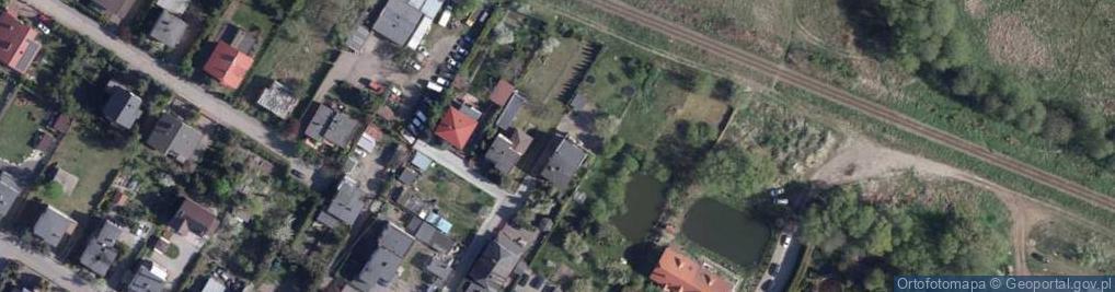 Zdjęcie satelitarne Kaliska ul.