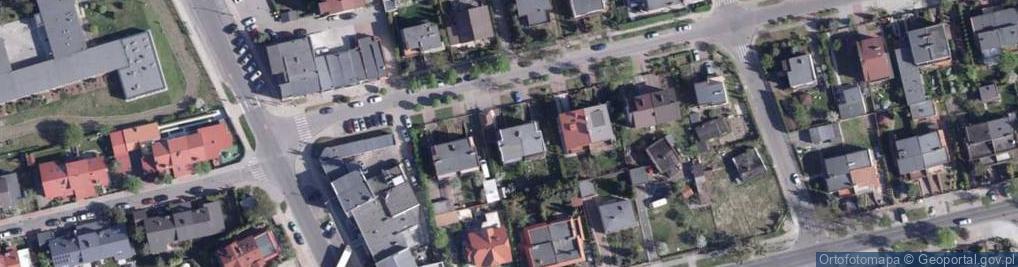 Zdjęcie satelitarne Kameliowa ul.