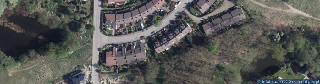 Zdjęcie satelitarne Kamienna ul.