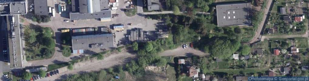 Zdjęcie satelitarne Kanałowa ul.