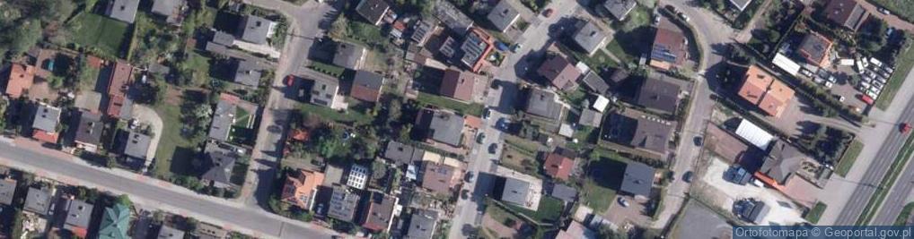 Zdjęcie satelitarne Karolinki ul.
