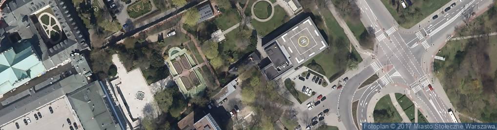 Zdjęcie satelitarne Karowa ul.