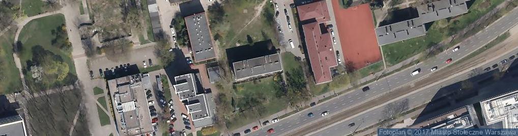 Zdjęcie satelitarne Karolkowa ul.