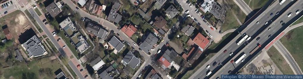 Zdjęcie satelitarne Kaskadowa ul.