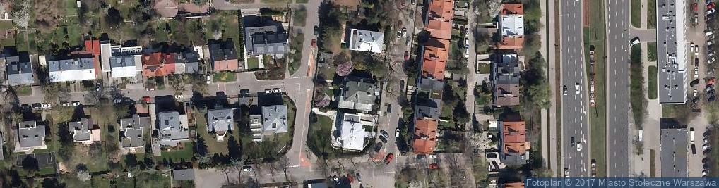 Zdjęcie satelitarne Karwińska ul.