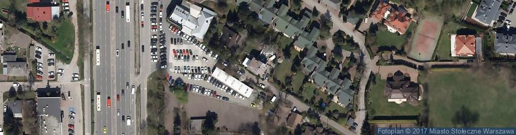 Zdjęcie satelitarne Karmazynowa ul.