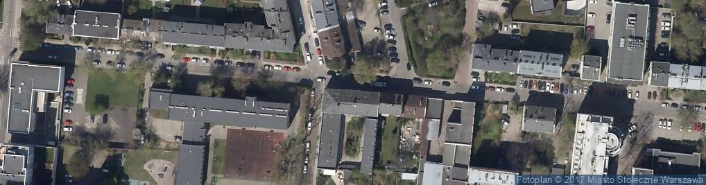Zdjęcie satelitarne Kamionkowska ul.