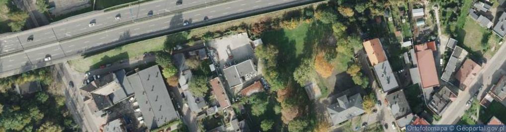 Zdjęcie satelitarne Kaźni Oświęcimskiej ul.
