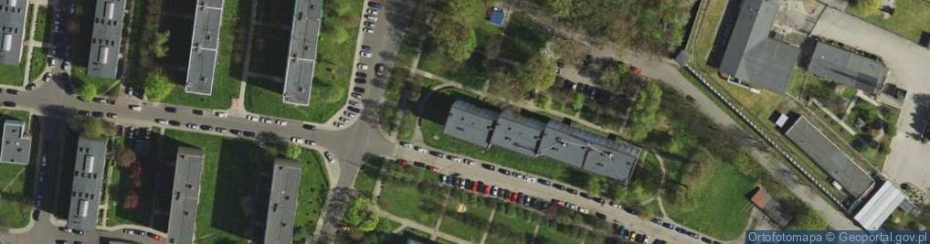 Zdjęcie satelitarne Kalinowa ul.