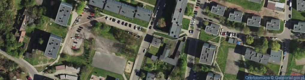 Zdjęcie satelitarne Karczewskiego Wacława ul.