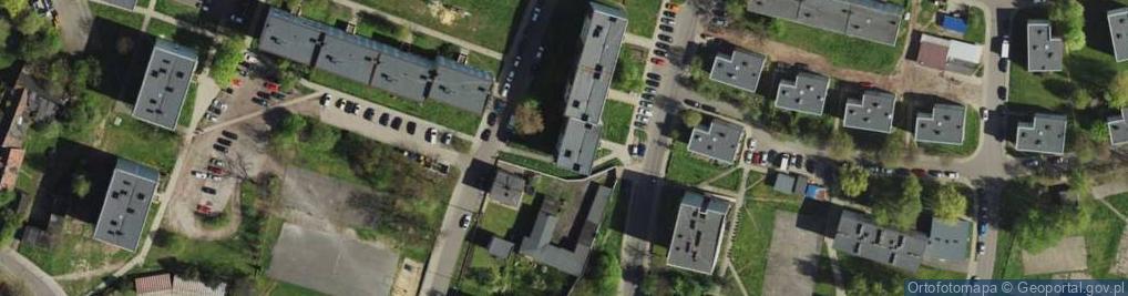 Zdjęcie satelitarne Kawika Adama ul.