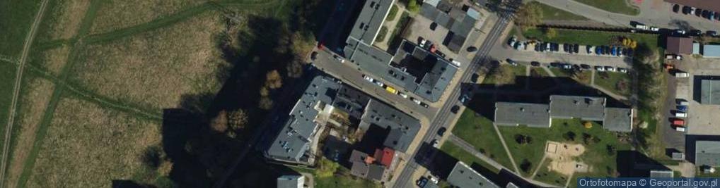 Zdjęcie satelitarne Kępowa ul.