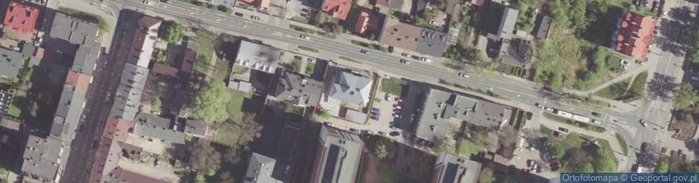 Zdjęcie satelitarne Kelles-Krauza Kazimierza ul.