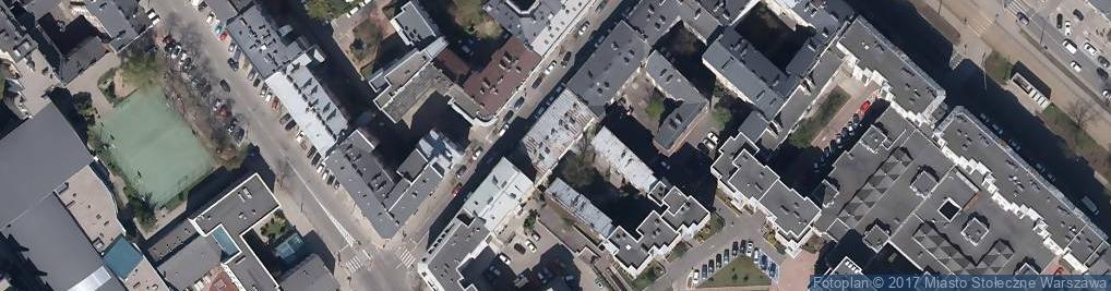 Zdjęcie satelitarne Kępna ul.