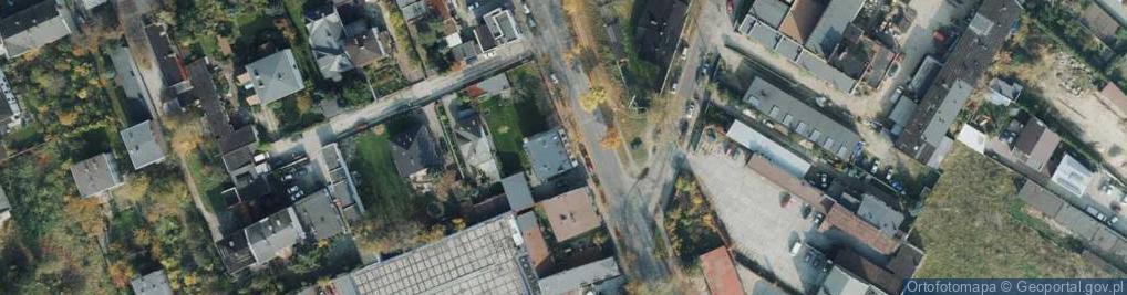Zdjęcie satelitarne Kiedrzyńska ul.