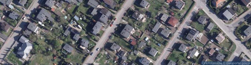 Zdjęcie satelitarne Kielecka ul.