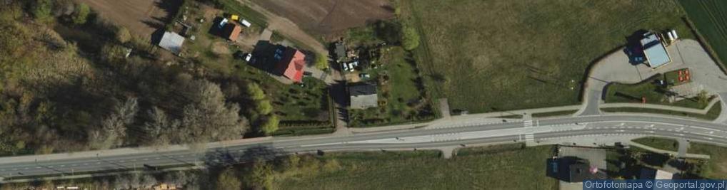 Zdjęcie satelitarne Kłódka ul.