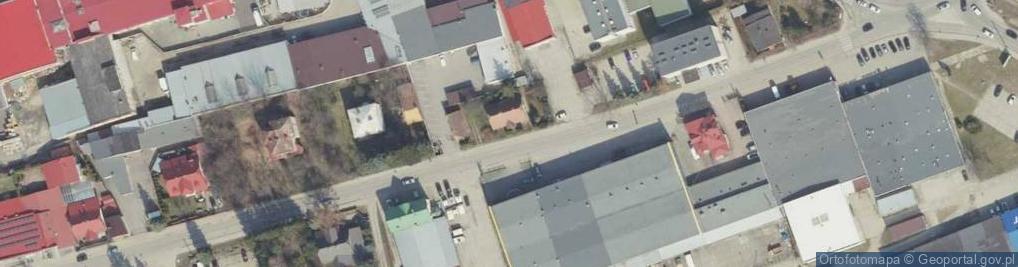 Zdjęcie satelitarne Kletówki ul.
