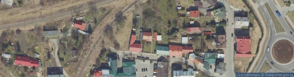 Zdjęcie satelitarne Klaczki Juliana ul.