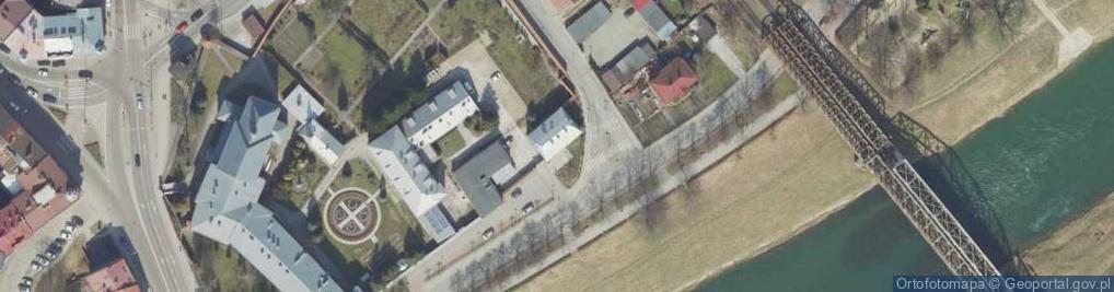 Zdjęcie satelitarne Klasztorna ul.
