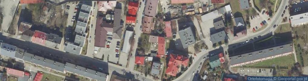 Zdjęcie satelitarne Klonowicza Sebastiana ul.