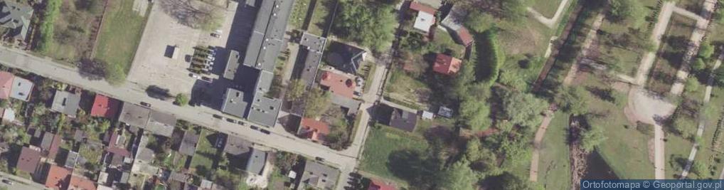 Zdjęcie satelitarne Klementyny ul.