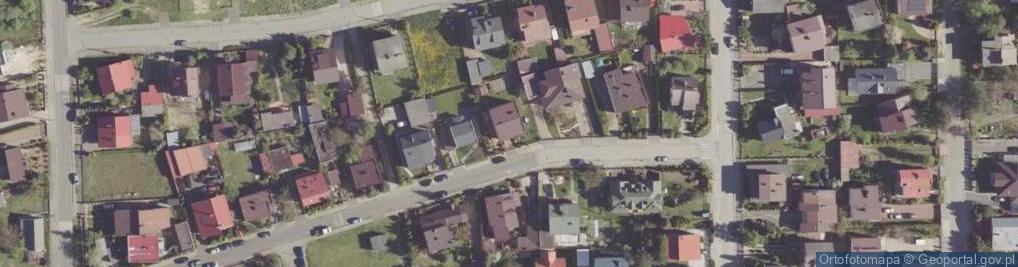 Zdjęcie satelitarne Klwowska ul.