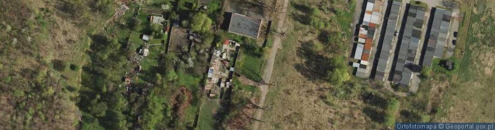 Zdjęcie satelitarne Klary ul.