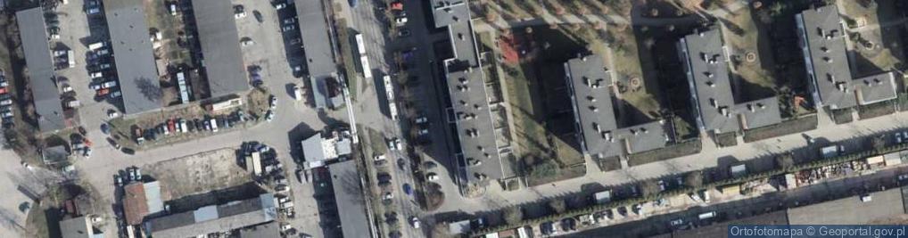 Zdjęcie satelitarne Klonowica Sebastiana ul.