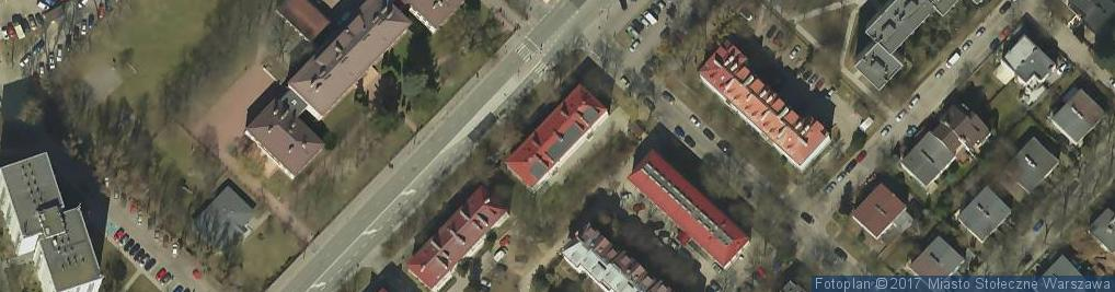 Zdjęcie satelitarne Klarysewska ul.