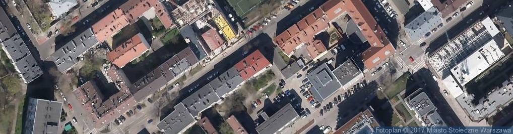 Zdjęcie satelitarne Kłopotowskiego Ignacego, ks. ul.