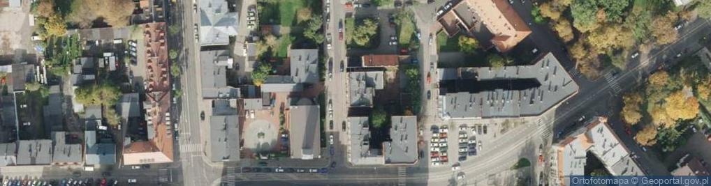 Zdjęcie satelitarne Klimasa Czesława ul.