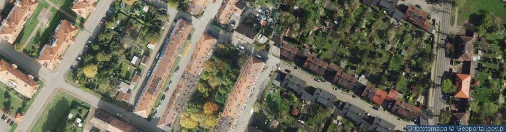 Zdjęcie satelitarne Kłyki Pawła ul.