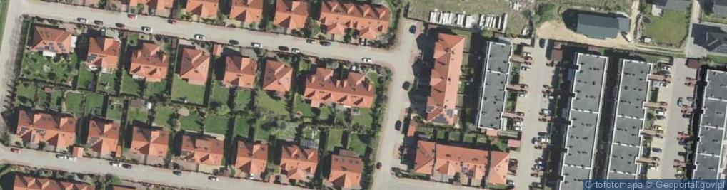 Zdjęcie satelitarne Kossak Simony ul.